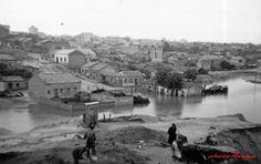 Inundaciones en la zona del Arroyo del Abroñigal, 30 de Octubre de 1942.