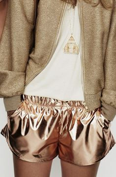 PUNO - Metallic Shorts