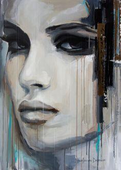 """Saatchi Art Artist: Hesther Van Doornum; Acrylic 2014 Painting """"Intimate"""""""
