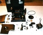 SINGER 227M SEWING MACHINE WITH DROP FEED DOG GREAT COLLECTOR