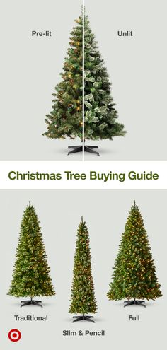 Find Christmas trees by style—lit or unlit, farmhouse or white—and ideas for ornaments, lighting & decor. Christmas Tree Themes, Christmas Love, Winter Christmas, Christmas 2019, Christmas Tree Decorations, Christmas Crafts, Whoville Christmas, Hygge Christmas, Christmas Tablescapes