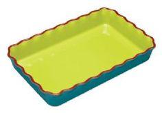 View Large Image for World of Flavours Mexican Ceramic Enchilada Dish - 37cm x 24cm / 14 £14.24