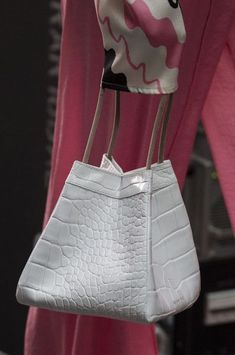 281d791ae011 Rejina Pyo at London Fashion Week Fall 2018 - Details Runway Photos Fashion  Handbags
