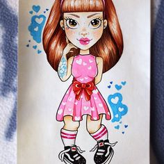 @saracervelli She's Jess and she's my cutie 💜 using my new chameleon pens and I'm in love with them! @chameleonpens #drawing #drawinglife #flash #flashsheet #tattooflash #tattoo #tattoos #tattooapprentice #tattooist #tattooer #ladytattooer #girltattooer #ladywithtattoos #girlwithtattoos #doll #dolls #dolltattoo #cutedoll #tattooeddoll #vans #tattoo #rosetattoo #chameleon #chameleonpens #chameleonmarkers #bubblegumpink #eyebrowgame #cute #sassy #bighair Eyebrow Game, Doll Tattoo, Tattoo Apprentice, Bubblegum Pink, Chameleon, Big Hair, Amazing Art, Tattoo Artists, Pens