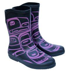 Rubber Boots - Rain Spirit by Morgan Green