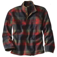 Just found this Mens Lightweight Warm Plaid Fleece - Green Mountain Plaid Snap-Neck Fleece -- Orvis on Orvis.com!