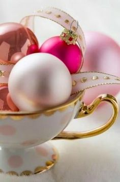 Pink Christmas Decoration