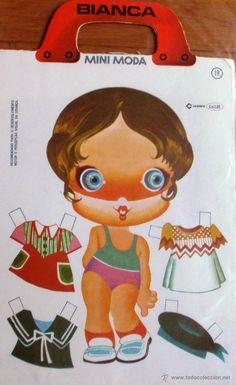 Recortable BIANCA. Mini Moda nº 19. CEDIBRA. 1976 - Foto 1