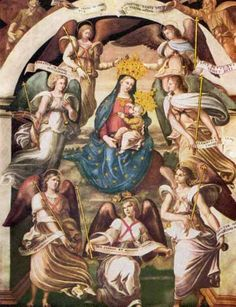 """The Angels are comprised of 9 choirs; Seraphim, Cherubim, Thrones, Dominions, Powers, Virtues, Principalities, Archangels and Angels. Particularly powerful are the 7 great Archangels spoken of in Apoc VIII:2 """"And I saw 7 Angels standing in the presence of God""""."""