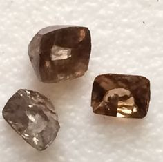 Latest on gemsforjewels - Gorgeous champagne Diamond beauties Diamond Cut for your settings- A lovely refreshing color!!