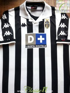 Relive Juventus' 1999/2000 season with this vintage Kappa home football shirt.