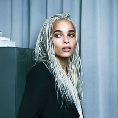 [/b] Zoe Kravitz for YSL Beauty [b]The Look:[/b] Zoe's official portrait to announce she has become an ambassador for YSL Beauty is simply stunning. Natural, fresh and ultra pretty, this photo really captures Zoe's approach to beauty. Lenny Kravitz, Zoe Kravitz Braids, Zoe Kravitz Style, Zoe Kravitz Age, Lisa Bonet, Ysl Beauty, Hair Beauty, Hair Inspo, Hair Inspiration