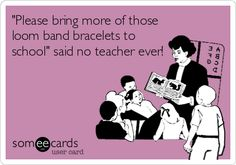 Has the loom band bracelet epidemic hit your school?