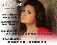 Sibel Can 2018 Avrupa Konserleri...