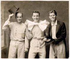 John F. Kennedy and his college roommates, 1935