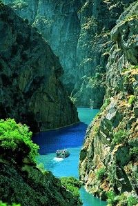 Rocky Canyon, Douro River, Portugal: