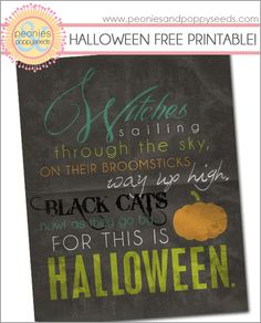 This site has lots of cute Halloween and other printables