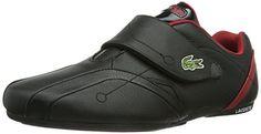 Lacoste PROTECT CRT, Herren Sneakers, Schwarz (BLK/DK RED 2E9), 46.5 EU (11.5 Herren UK) - http://on-line-kaufen.de/lacoste/46-5-eu-lacoste-protect-crt-herren-sneakers
