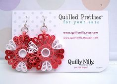 Quilly Nilly: Sophie Earrings