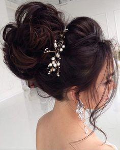 Half-updo, Braids, Chongos Updo Wedding Hairstyles   Deer Pearl Flowers