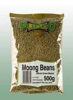 Mung dáll nelúpaný Fudco 500g