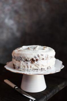 Hazelnut + wafer ice cream cake