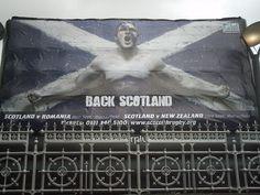 Scottish Rugby Union Edinburgh Posterplus Inflatable Billboard