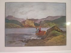 Dunvegan Castle  Antique  Original Illustration of by vertzvkv