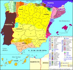 Languages and dialects of Spain.