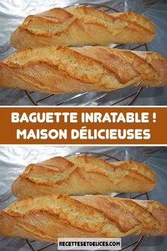 Homemade Inratable Baguette - Recipes From The World - Homemade Inratable Baguette – Recipes From The World - Bread Recipes, Crockpot Recipes, Chicken Recipes, Cooking Recipes, Chef Recipes, Dog Recipes, Recipes Dinner, Healthy Breakfast Recipes, Healthy Recipes