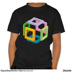 Expanding Necker Cube Shirts