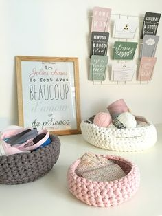 Chipies Canailles et Compagnie: DIY: une suspension en trapilho