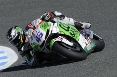 MotoGP - Scott Redding dragging his elbow at Jerez