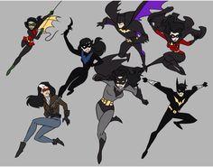 Gender bend bat family