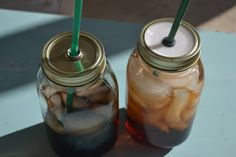 Queen of Kings: DIY Mason Jar Cup, Two Ways!