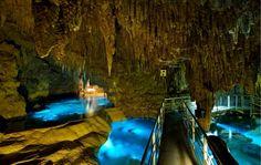 Illuminated Caves ~ Okinawa, Japan
