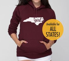 All States and Washington DC 'Girl' by SevenMilesPerSecond on Etsy