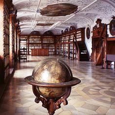 Amberg, Bibliothek des ehemaligen Jesuitenkollegs Photograph by Christoph Seelbach