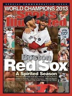 Boston Red Sox; cover of SI