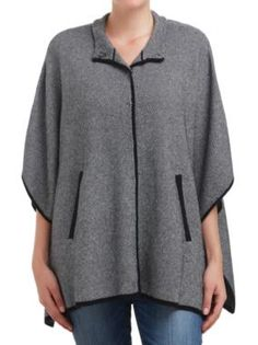 Sussan - Clothing - Knitwear - Pullovers - Mini jacquard cape