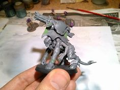 The Hammer of Wrath: WIP: Tyranid Biovore conversion