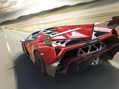 Lamborghini Veneno Roadster: geometría, ingeniería y excelencia