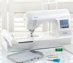 "Brother RPE700II 5x7"" USB Cable Embroidery Machine .  Ugh . I want it."