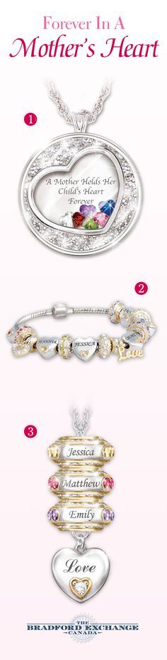 Capture the hearts of mothers everywhere with these personalized jewellery gifts! Which one will you customize for your mom?