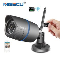Cheap outdoor cctv, Buy Quality ip camera directly from China wifi Suppliers: MISECU Wifi IP camera Audio built SD card Wifi Wireless email alert Night vision IR Outdoor CCTV Wireless Home Security Systems, Security Alarm, Security Camera, Sony Camera, Video Camera, Nocturne, Wi Fi, Audio, Best Home Security