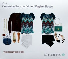 Stitch Fix Colorado Chevron Print - like this shirt!