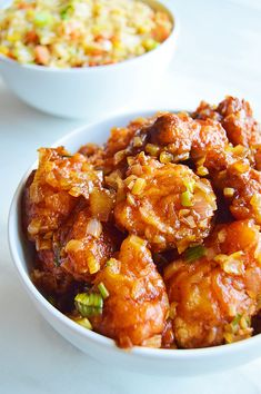 Honey Garlic Cauliflower – a crispy fried cauliflower coated with sweet and savoury honey garlic sauce. This Indo-Chinese starter makes a perfect appetiser for parties, game days, potlucks and any gatherings. A perfect side for fried rice and noodles. Vegetarian Chinese Recipes, Vegetable Recipes, Indian Food Recipes, Chinese Eggplant Recipes, Indo Chinese Recipes, Cooking Recipes, Healthy Recipes, Honey Recipes, Vegetable Dishes