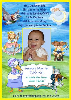 Bnute productions nursery rhyme party invitation and decoration bnute productions nursery rhyme party invitation and decoration ideas parties gatherings pinterest nursery rhyme party party invitations and filmwisefo