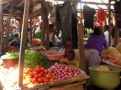 Asabotsy Market, Antsirabe, Madagascar.