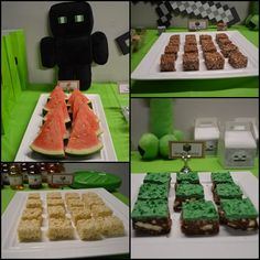 party food ideas Minecraft